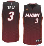 Miami Heat - Maillot NBA Wade 3 Rouge Retentisse Fashion