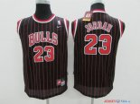 Chicago Bulls - Maillot Junior NBA Michael Jordan 23 Noir Bande