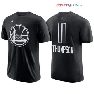 2018 All Star - Maillot NBA Klay Thompson 11 Noir Manche Courte