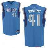 Dallas Mavericks - Maillot NBA Dirk Nowitzki 41 Bleu