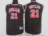 Chicago Bulls - Maillot Junior NBA Jimmy Butler 21 Noir Bande