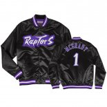 Toronto Raptors-Survetement NBA Tracy McGrady 1 Noir