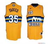 Denver Nuggets - Maillot NBA Kenneth Faried 35 Jaune