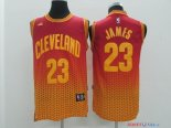 Cleveland Cavaliers - Maillot NBA James 23 Rouge Retentisse Fashion