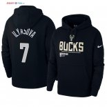 Milwaukee Bucks - Sweat Capuche NBA Ersan Ilyasova 7 Noir
