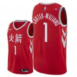 Houston Rockets - Maillot NBA Michael Carter Williams 1 Nike Rouge Ville 2018
