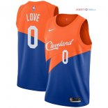 Cleveland Cavaliers - Maillot NBA Kevin Love 0 Nike Bleu Ville 2018/2019