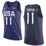 2016 USA - Maillot NBA Klay Thompson 11 Bleu