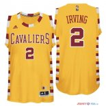 Cleveland Cavaliers - Maillot NBA Kyrie Irving 2 Jaune Dentelle