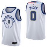 Golden State Warriors - Maillot NBA Patrick McCaw 0 Nike Retro Blanc 2017/2018