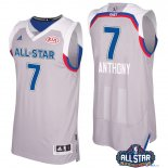 2017 All Star - Maillot NBA Carmelo Anthony 7 Gray