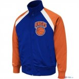 New York Knicks - Survetement NBA Bleu Orange