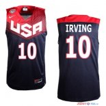 2014 USA - Maillot NBA Irving 10 Noir