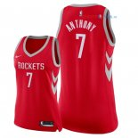 Houston Rockets - Maillot Femme NBA Carmelo Anthony 7 Rouge Icon 2018