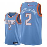 Los Angeles Clippers - Maillot NBA Shai Gilgeous Alexander 2 Nike Bleu Ville 2018