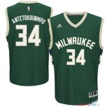 Milwaukee Bucks - Maillot NBA Giannis Antetokounmpo 34 Vert