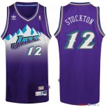 Utah Jazz - Maillot NBA John Stockton 12 Pourpre