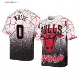Chicago Bulls - T-Shirt NBA Coby White 0 Blanc