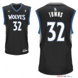 Minnesota Timberwolves - Maillot NBA Karl Anthony 32 Towns Noir