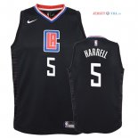 Los Angeles Clippers - Maillot Junior NBA Montrezl Harrell 5 Noir Statement 2018
