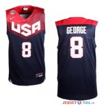 2014 USA - Maillot NBA George 8 Noir