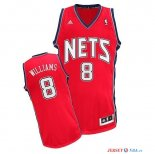 Brooklyn Nets - Maillot NBA Deron Michael Williams 8 Rouge