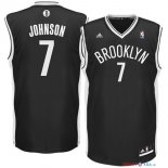 Brooklyn Nets - Maillot NBA Earvin Johnson 7 Noir