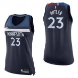 Minnesota Timberwolves - Maillot Femme NBA Jimmy Butler 23 Marine Icon 2017/2018