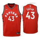 Toronto Raptors - Maillot Junior NBA Pascal Siakam 43 Rouge Icon 2018