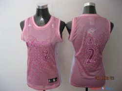 Washington Wizards - Maillot Femme NBA John Wall 2 Rose 2014 Noël