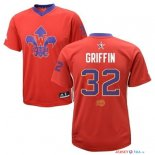 2014 All Star - Maillot NBA Blake Griffin 32 Rouge