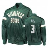 Milwaukee Bucks-Survetement NBA George Hill 3 Vert