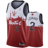 Toronto Raptors-Maillot NBA Kawhi Leonard 2 Rouge Hometown Collection