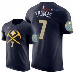 Denver Nuggets - Maillot NBA Isaiah Thomas 7 Marine Manche Courte 2018