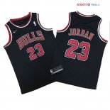 Chicago Bulls - Maillot Junior NBA Michael Jordan 23 Noir