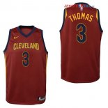 Cleveland Cavaliers - Maillot Junior NBA Isaiah Thomas 3 Rouge Icon