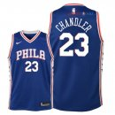 Philadelphia Sixers - Maillot Junior NBA Wilson Chandler 23 Bleu Icon 2018/2019