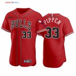 NBA X MLB - Maillot NBA Scottie Pippen 33 Rouge