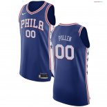 Philadelphia Sixers - Maillot NBA Jacob Pullen 0 Bleu Icon 2017/2018