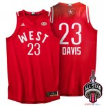 2016 All Star - Maillot NBA Anthony Davis 23 Rouge