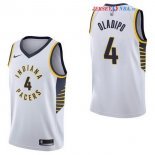 Indiana Pacers - Maillot NBA Victor Oladipo 4 Blanc Association 2017/2018