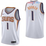 Phoenix Suns - Maillot Junior NBA Devin Booker 1 Blanc Association