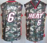 2013 Camouflage Fashion - Maillot NBA James 6