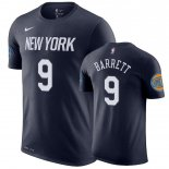 New York Knicks-T-Shirt NBA R.J. Barrett Noir