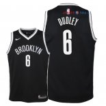 Brooklyn Nets - Maillot Junior NBA Jared Dudley 6 Noir Icon 2018