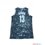 Houston Rockets - Maillot NBA James Harden 13 Bleu Ville Lumières