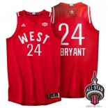 2016 All Star - Maillot NBA Kobe Bryant 24 Rouge