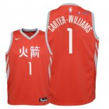 Houston Rockets - Maillot Junior NBA Michael Carter Williams 1 Nike Rouge Ville 2018
