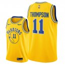 Golden State Warriors - Maillot NBA Klay Thompson 11 Jaune Ville 2018/2019