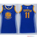 Golden State Warriors - Maillot Femme NBA Klay Thompson 11 Bleu